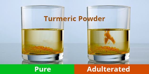 Turmeric adulteration check by Organic Products India