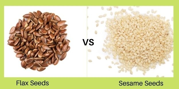 Sesame Vs Flax Seeds