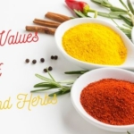 Importance of ORAC values of spices and herbs